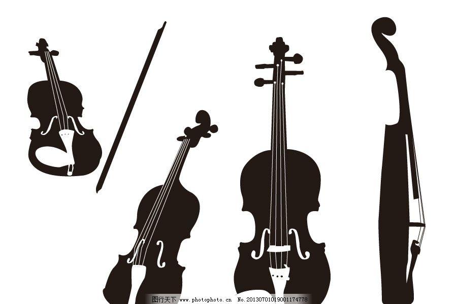 小提琴图片_绘画书法_文化艺术_图行天下图库
