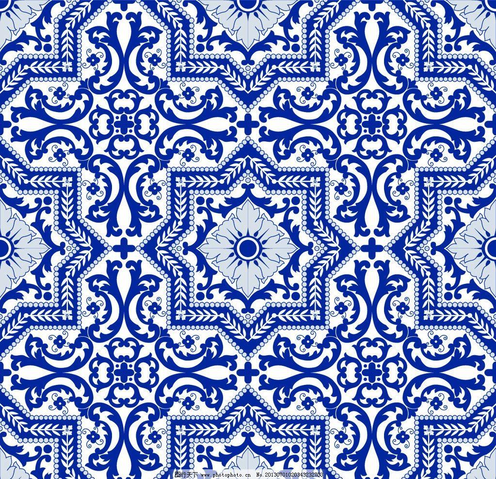二方连续 单独 四方连续 底纹 花纹 边框 花边花纹 底纹边框 设计 300