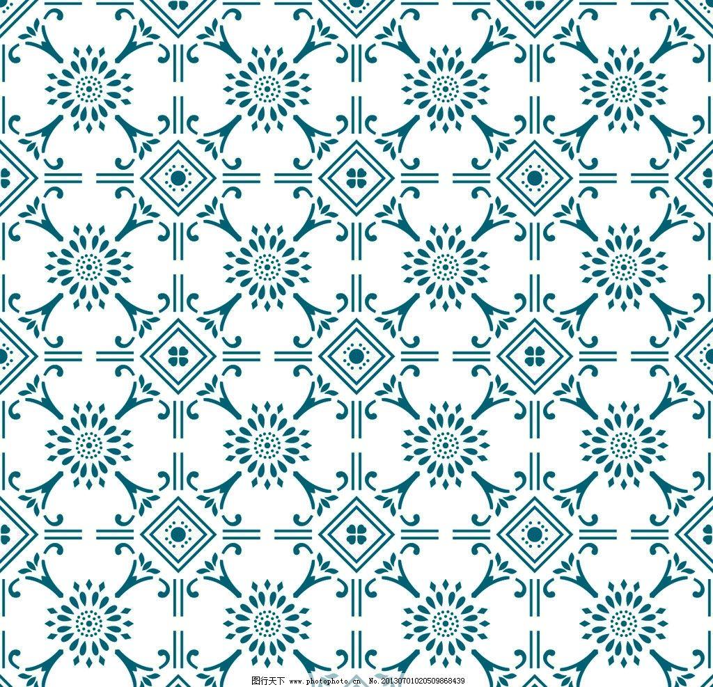 环境设计 材质贴图  几何现代图案底纹 几何 现代 图案 二方连续 单独
