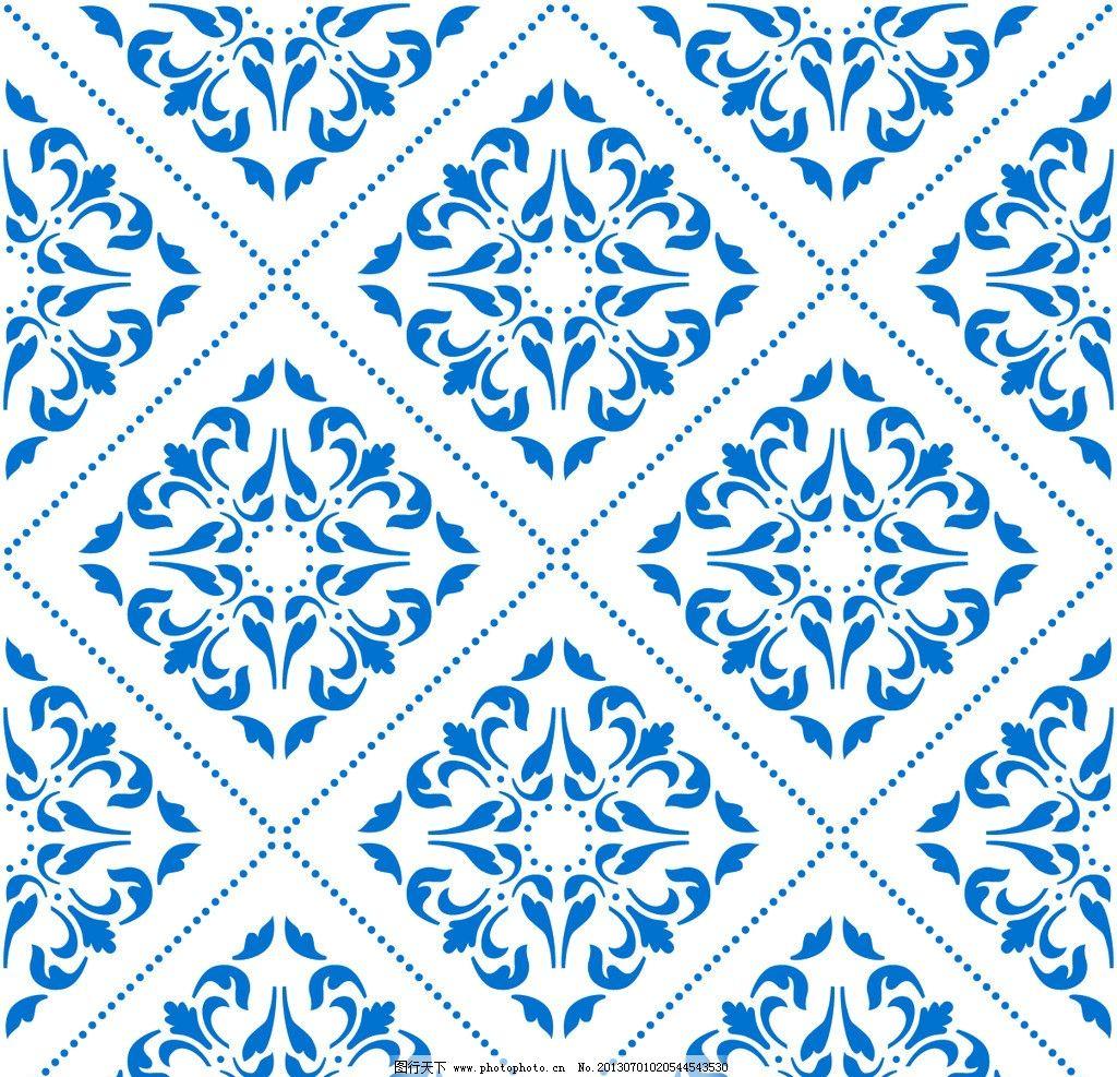 几何背景 现代 图案 二方连续 单独 四方连续 底纹 花纹 边框