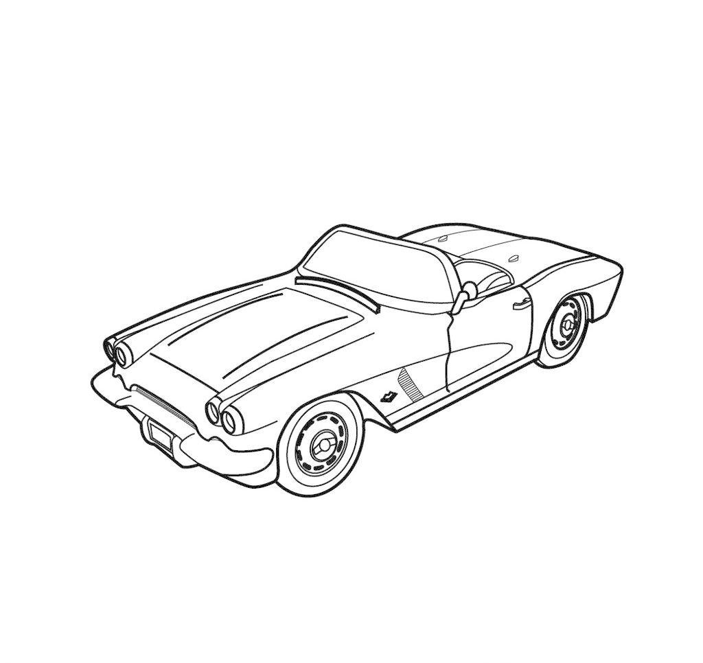 玩具车模型矢量图 广告设计 模型车 其他设计 线稿 玩具车模型矢量图