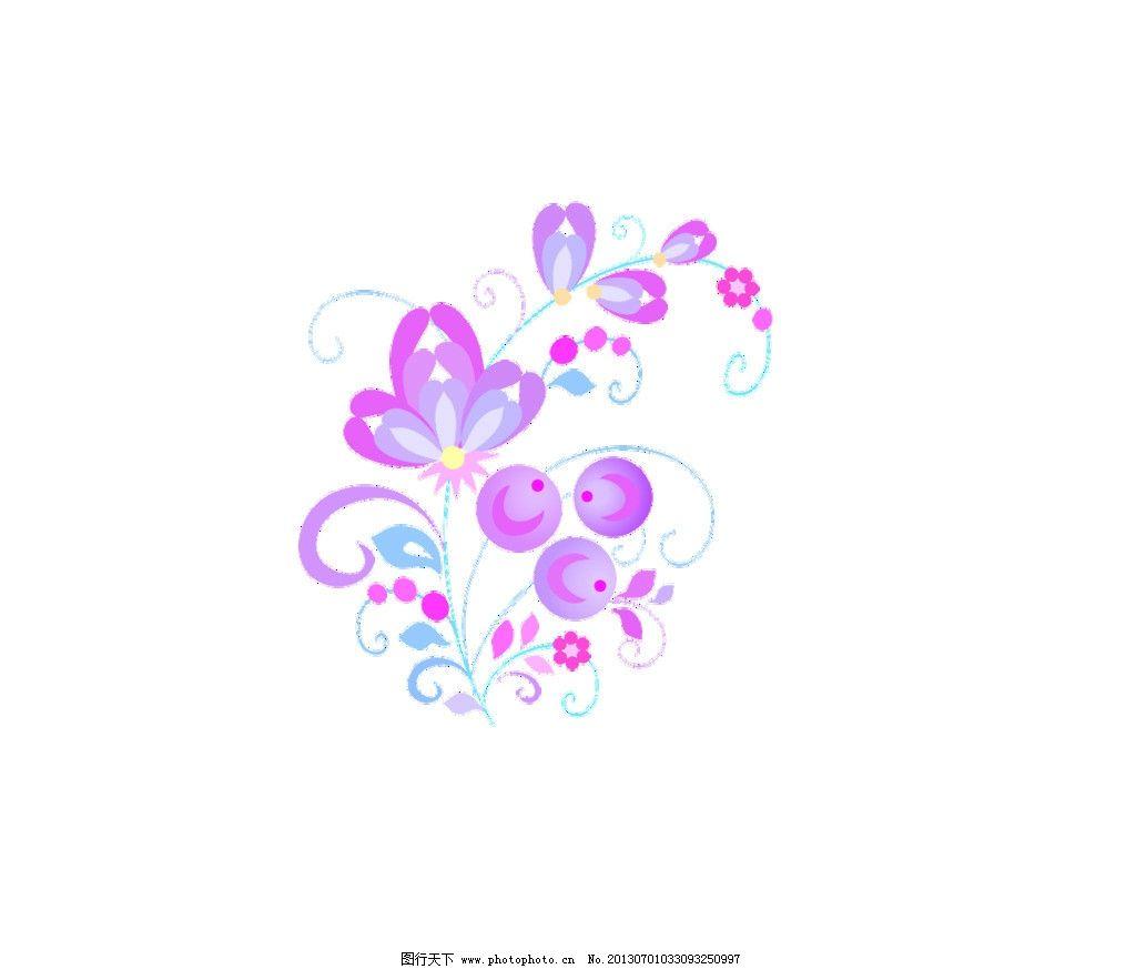 花边 花边素材下载 花边模板下载 角边 花纹 角花 psd分层素材 鲜花