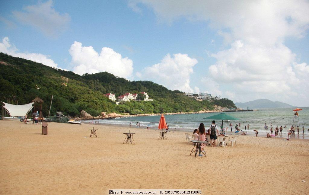沙滩图片,珠海 东澳岛 离岛 旅游 景点 海边 休闲-图