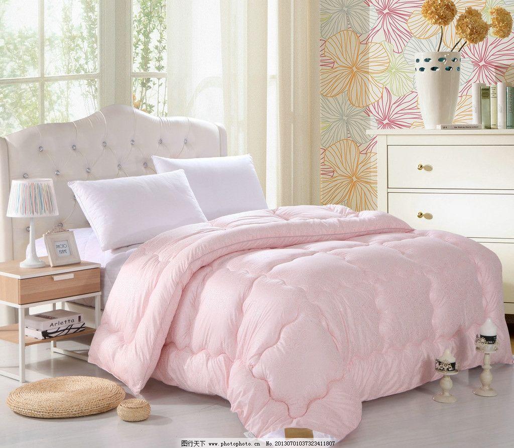 家纺 家纺图片素材下载 摄影 欧式 时尚 花纹 被子 床上用品