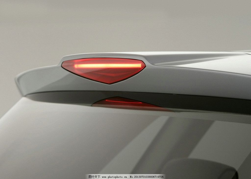 汽车外观灯位置图解