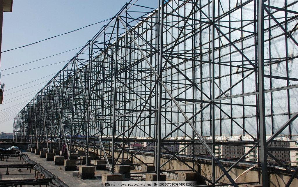 钢结构 户外 支撑架 焊接
