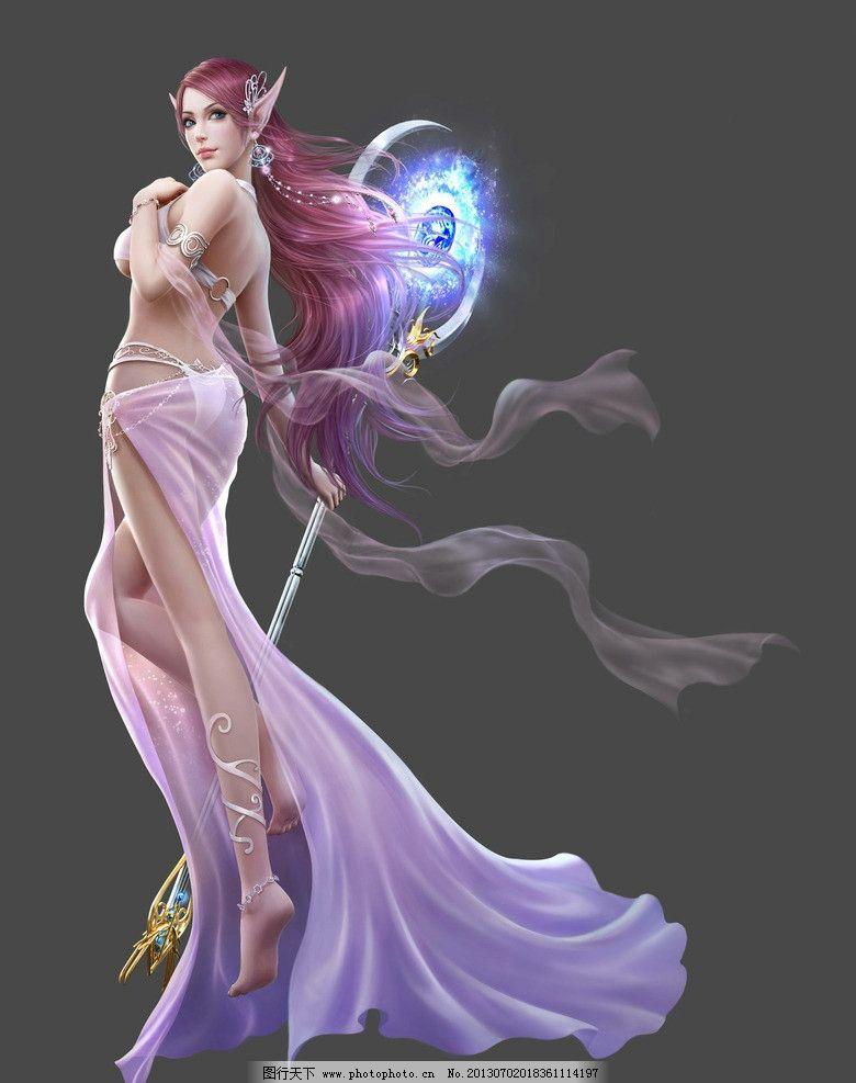 游戏人物 游戏 动漫人物 游戏原画 原画 美女 cg美女 女神 女法师 女