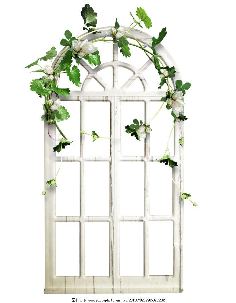 窗框 欧式 田园 窗 藤蔓 其他设计 环境设计 设计 118dpi png