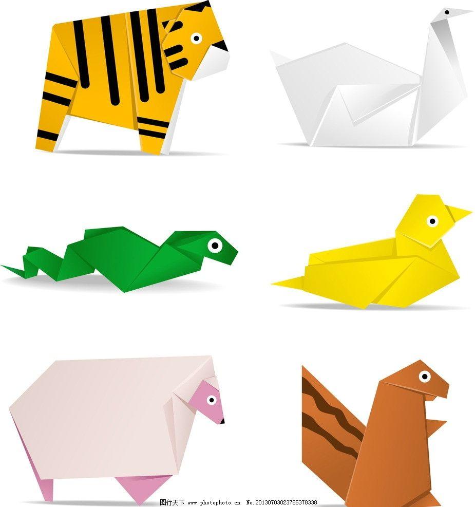 折纸动物图片_女性妇女