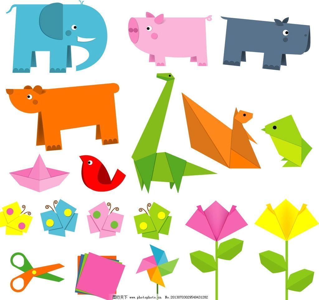 折纸动物图片