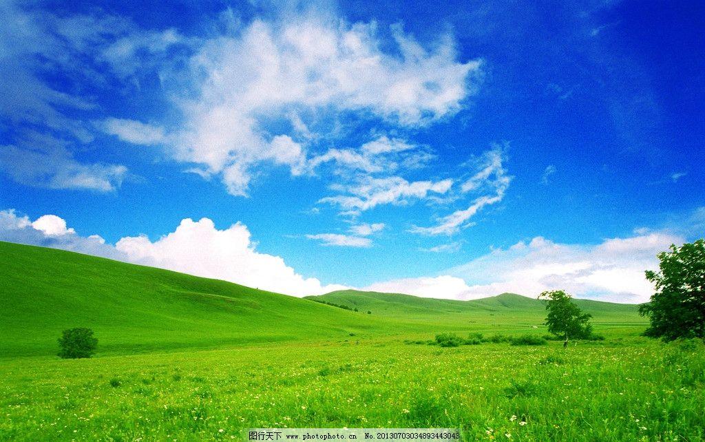 草原 蓝天白云草原 蓝天 白云 原野 青草 光线 太阳 阳光 一望无际