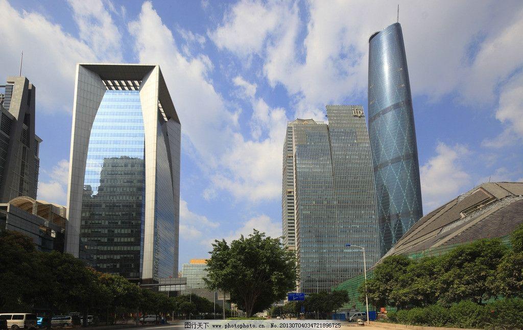 广州珠江新城 建筑 办公楼 城市 楼 建筑摄影 商务中心 大厦 楼宇