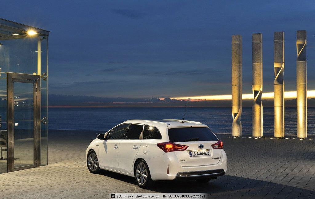 丰田旅行车图片