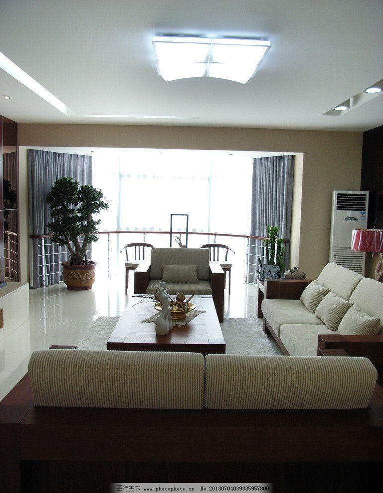 现代客厅 温馨 窗台 鲜花 花瓶 窗帘 窗户 阳台 阳光 室内摄影 建筑园
