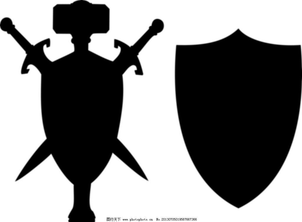 权威�y`iyd�y�d_盾牌 皇家标志 皇家盾牌 权威标志 交叉刀盾牌 双刀交叉 矢量