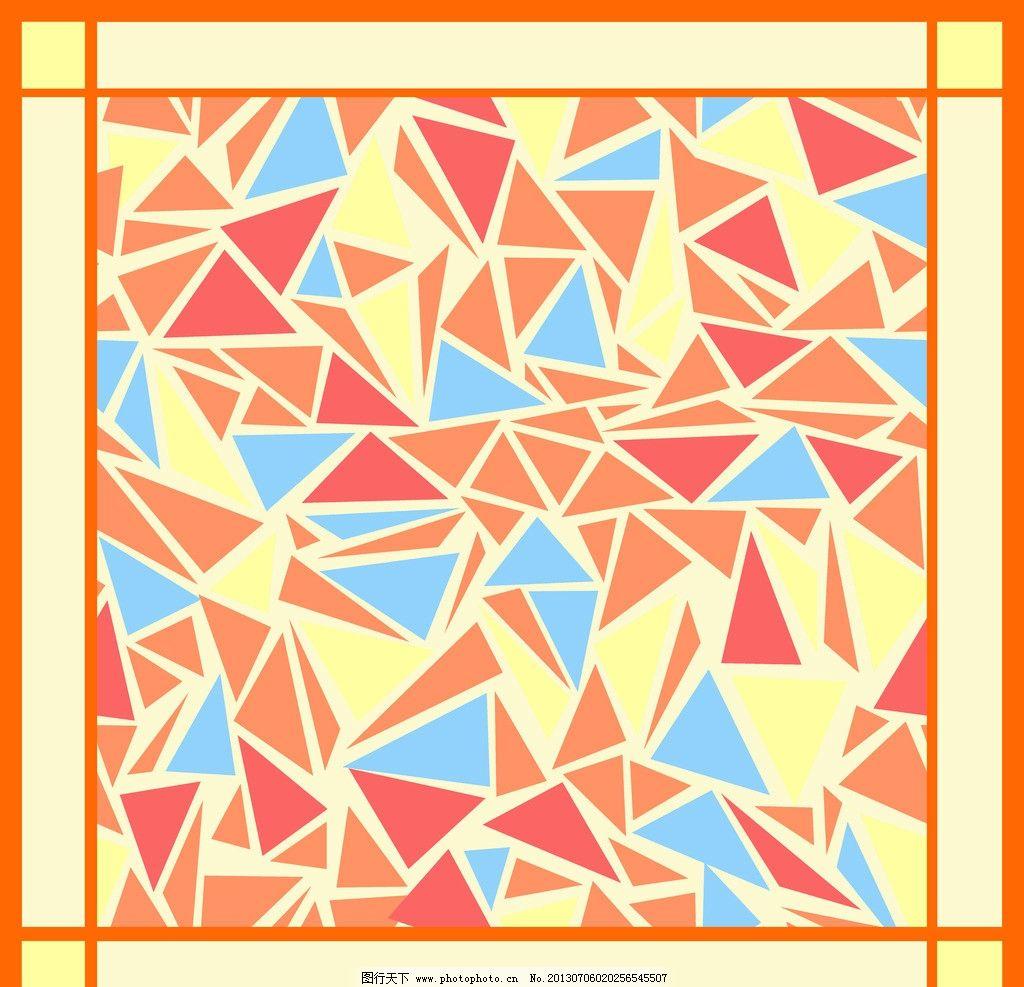 丝巾图案 丝巾 方巾 简约 简单 几何 背景底纹 底纹边框 设计 150dpi图片