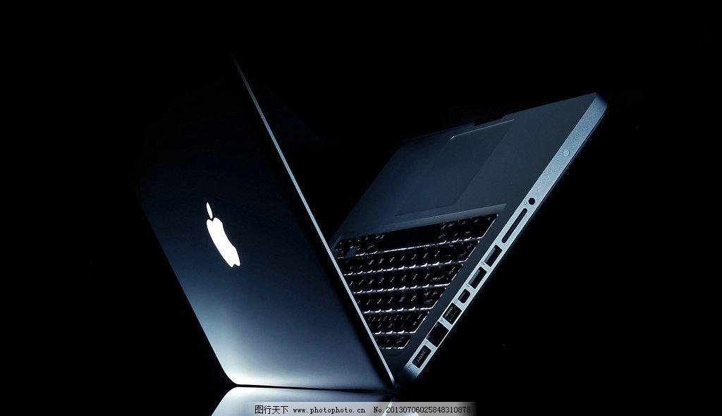 电脑网络  苹果电脑 苹果 灰色 笔记本电脑 特写 高清 电脑 精美 壁纸
