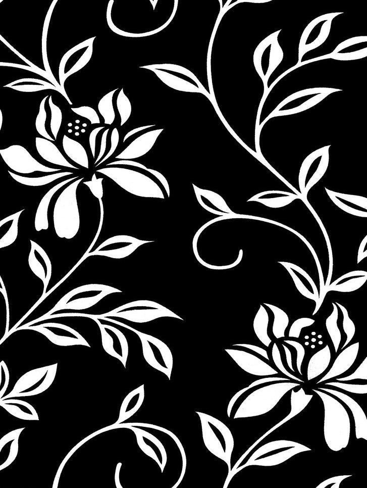 黑白贴图 花 花边花纹 墙纸贴图 设计 中式 黑白花纹图案设计素材