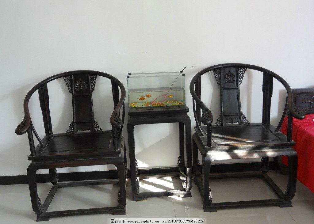 红木椅子图片