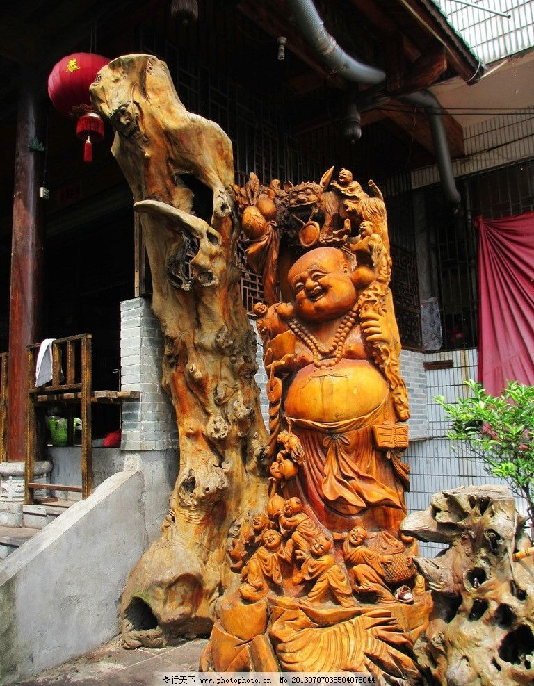 根雕 根雕弥勒佛 木材 木雕 传统艺术 根雕艺术 文化 手工艺品