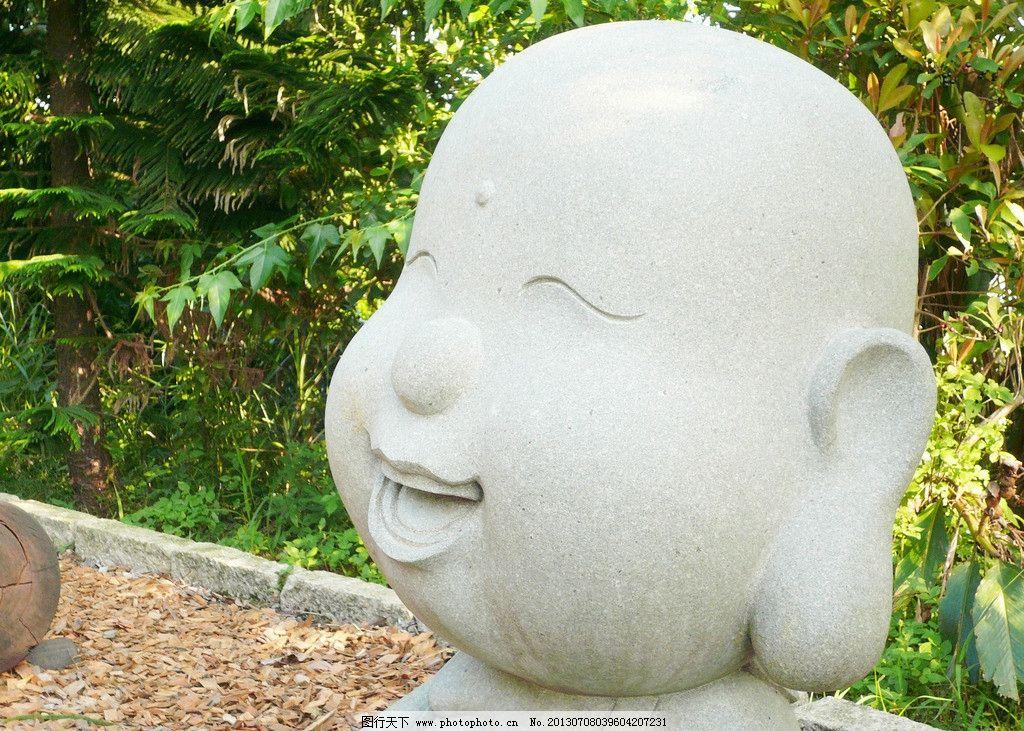 雕刻 雕塑 小沙弥图片