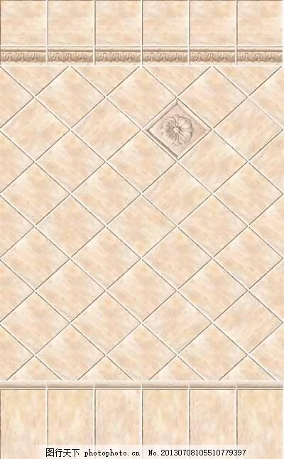 欧式瓷砖3d材质98