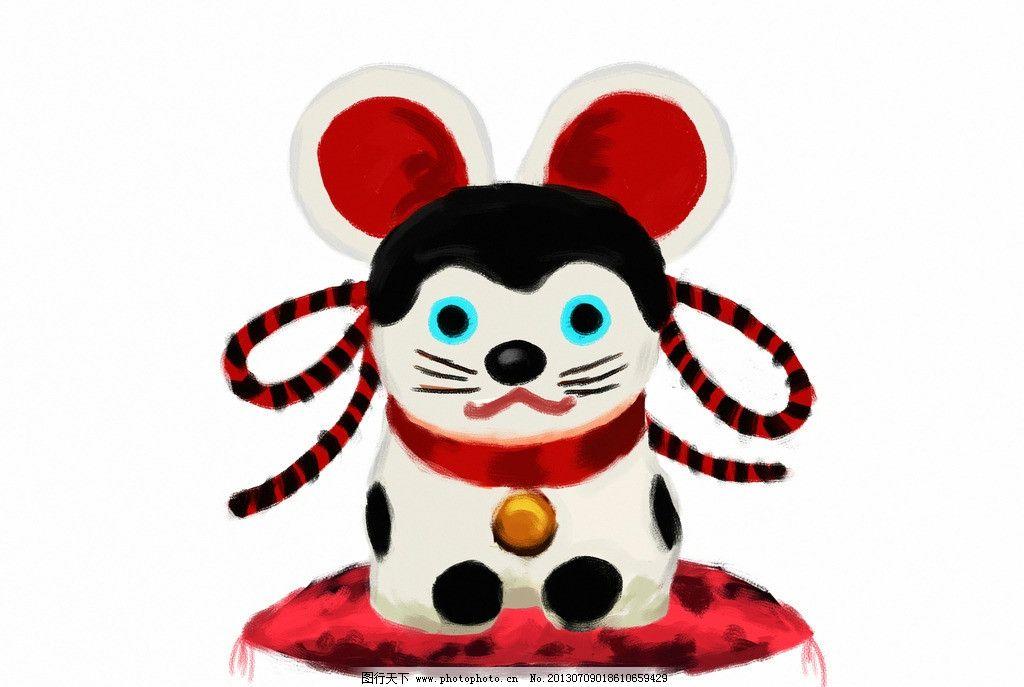 老鼠 鼠 鼠年 可爱 卡通 漫画 过年 生肖鼠 动漫动画 设计 jpg