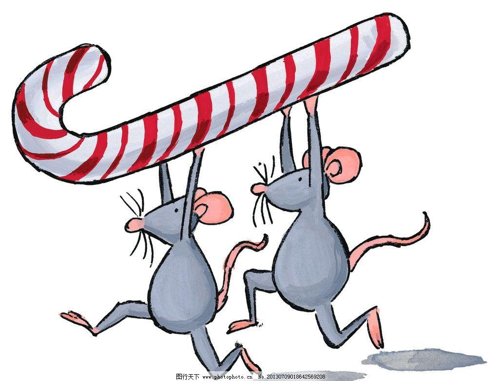 老鼠 鼠年 可爱 卡通 漫画 过年 生肖鼠 动漫动画
