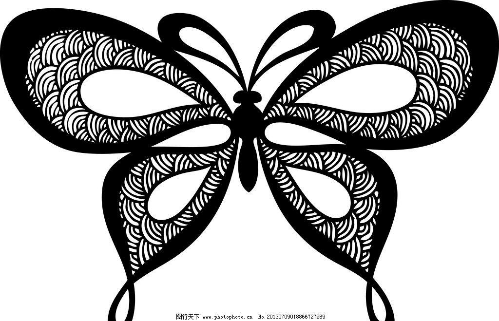 黑白抽象画人物工业风