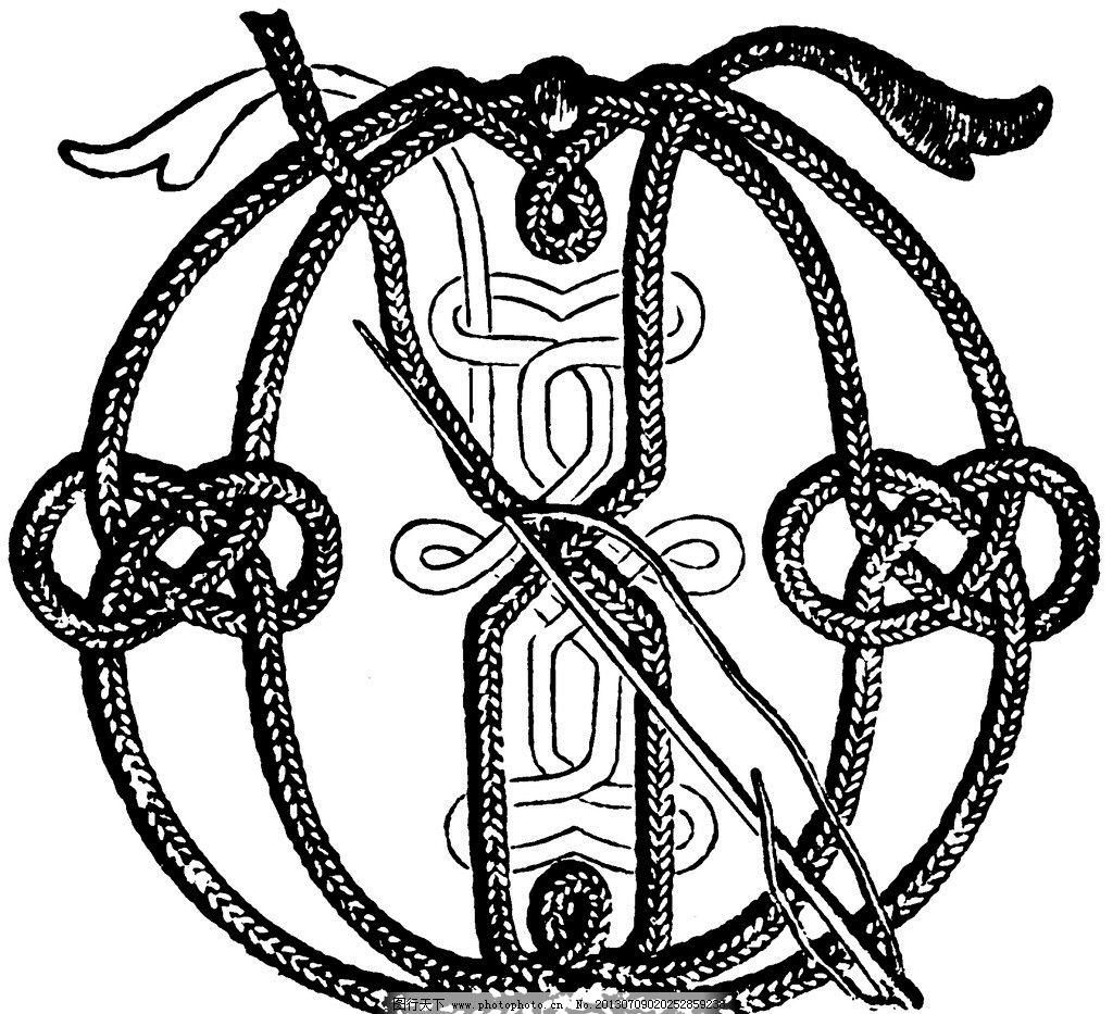 黑白 花边 植物 纹样 线条 花卉 服装边饰 刺绣 英文字母 绳子 背景
