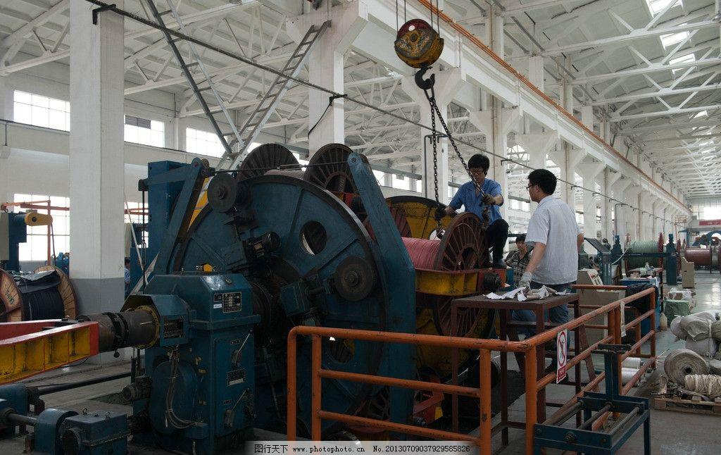 电缆生产设备 电线 电缆 制造 生产 设备 工业生产 现代科技 摄影 240