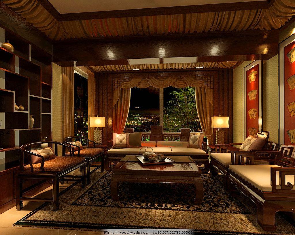 室内设计 案例效 果图 德利 凤岭世家 中欧 混搭 地下室 环境设计图片