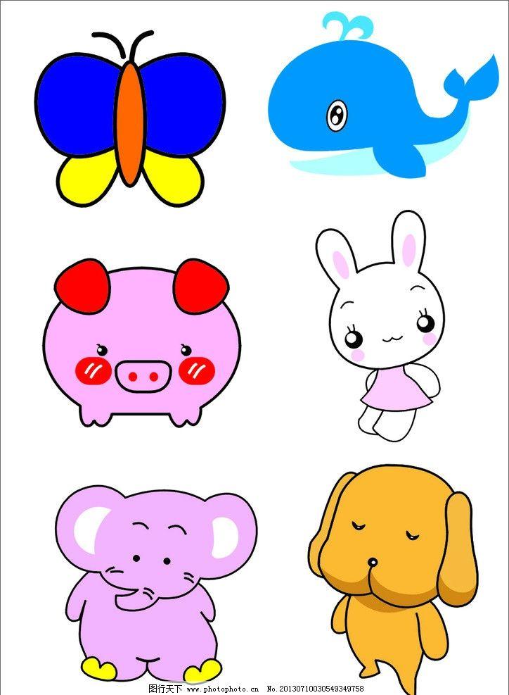 小动物矢量图形图片图片