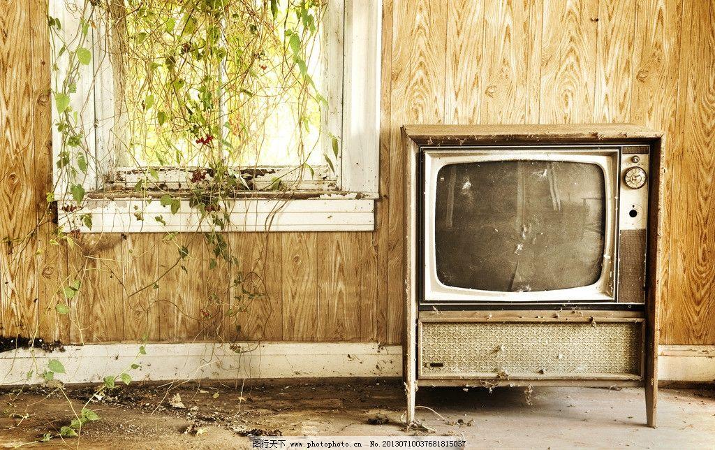 窗边的电视机图片