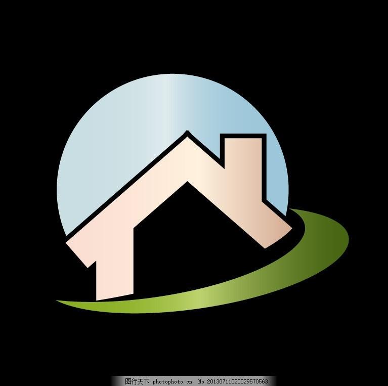 logo图标,标志 图标图标 房地产 小房子 商务-图行