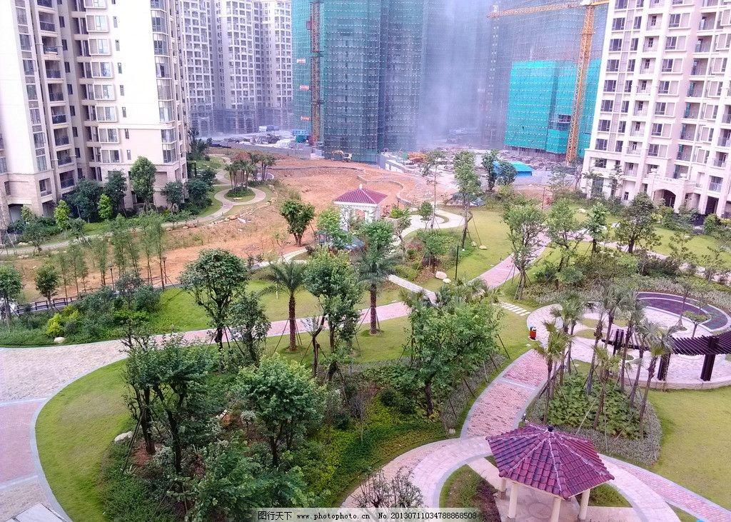 花园小区 花园设计 园林风格 小区创意 园林设计 建筑景观 自然景观