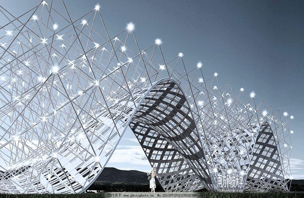 装置艺术 景观装置 抽象大门 大门设计 装置设计 现代设计 前卫设计