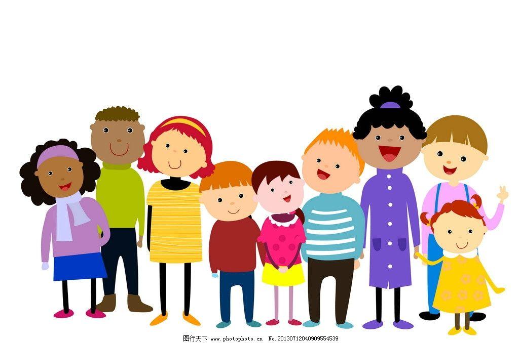 学生 学习 上学 儿童 小孩 孩子 世界各国小朋友 黑人小孩 白人小孩图片