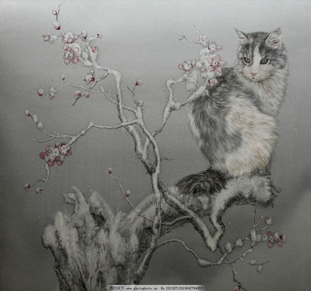 动物国画图片