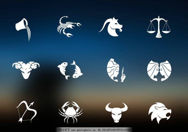 十二星座对应的动物