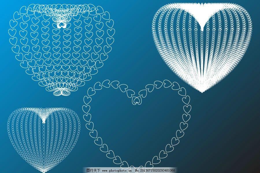 心形 爱心 心型 立体球 球体 球形 立体圆 圆形 圆圈 圆形圆圈