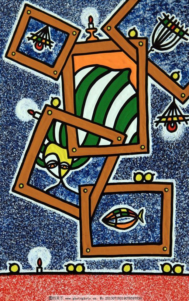 现代画 简约画 美术构成 手绘抽象装饰画 绘画书法 文化艺术 设计 72