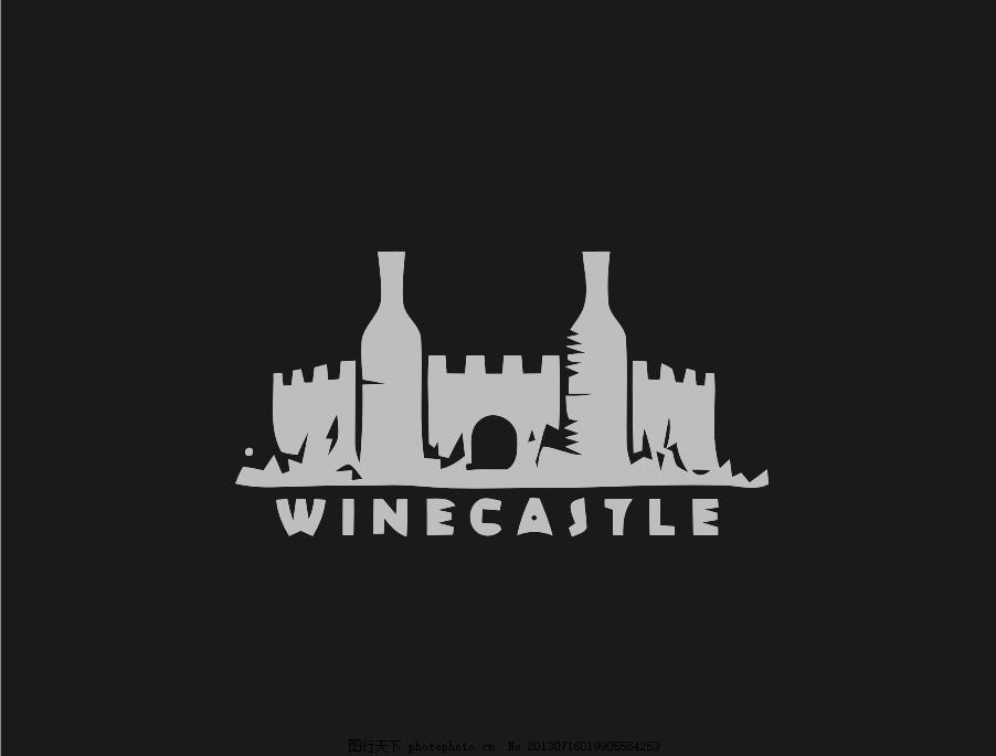 城堡logo 城堡 外国 国外 西方 欧美 西式 欧式 简洁 简单      vi