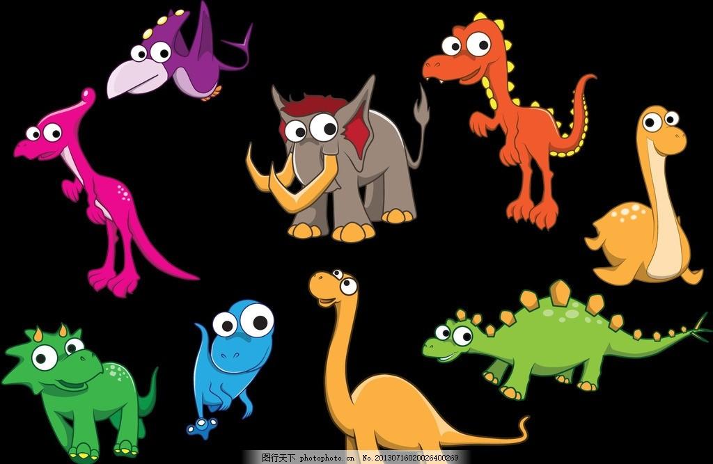 设计图库 标志图标 网页小图标  卡通图标 卡通矢量 动物矢量 彩色