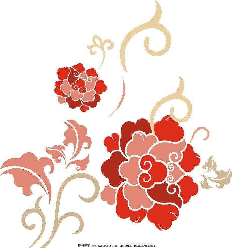 花纹 花纹矢量素材 花纹模板下载 cdr 云纹 矢量 简洁 花纹花边 底纹