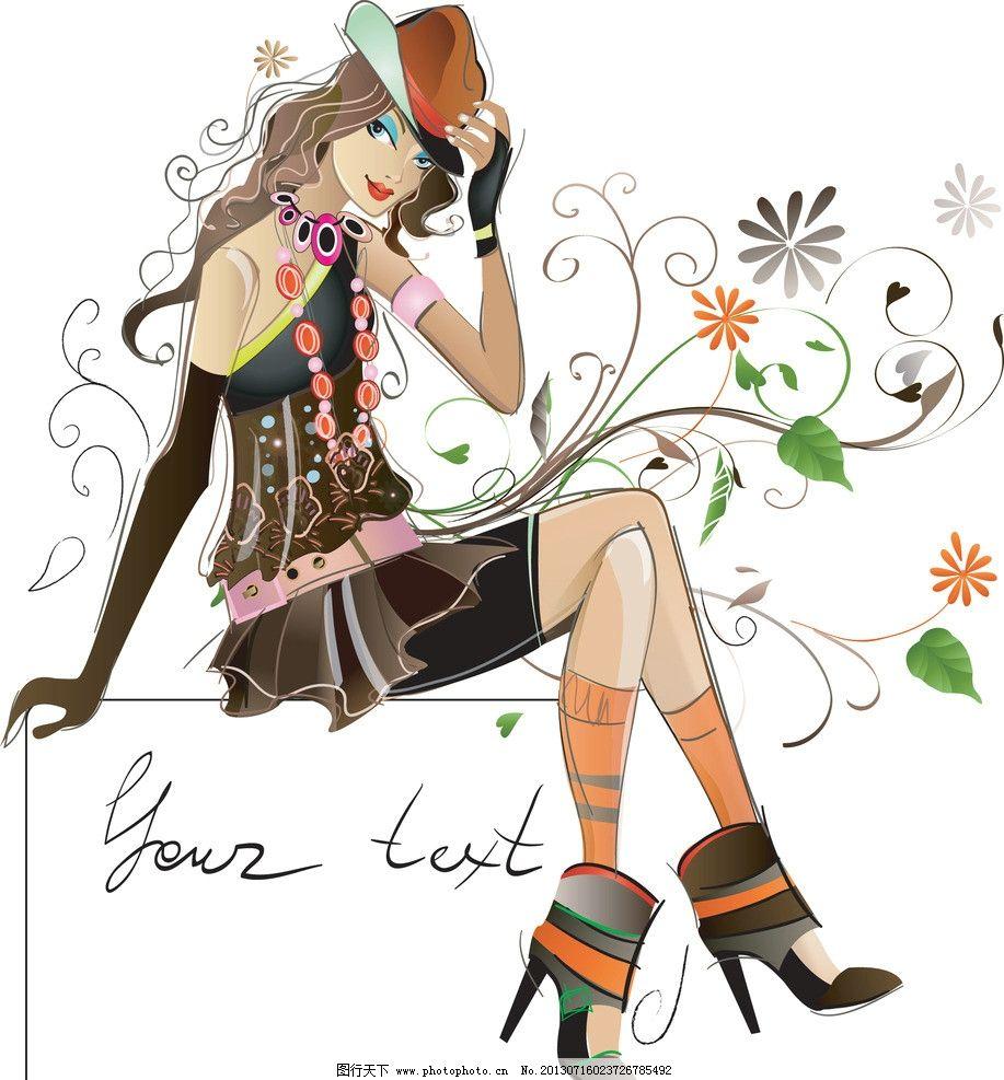 穿欧式服装的少女动漫图片