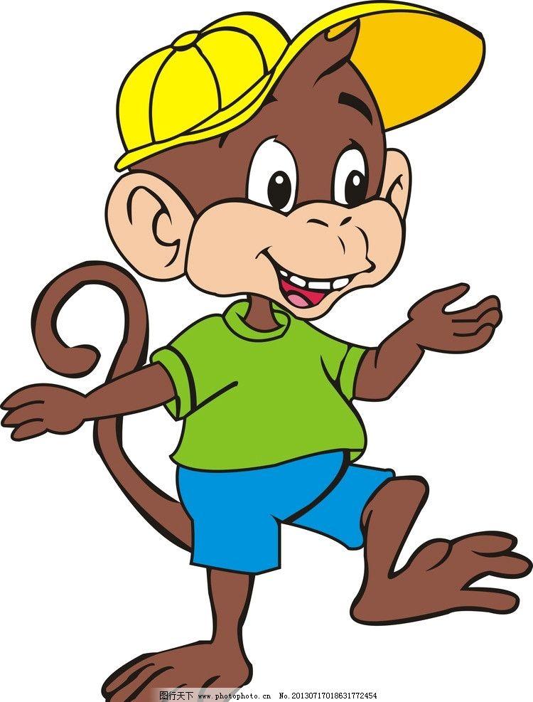 小猴子 可爱的小猴子 猴子 可爱 大嘴 其他 动漫动画 设计 300dpi jpg