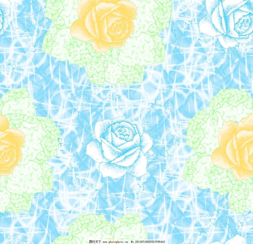 纺织品花样 抽象底纹 底纹素材 花卉 窗帘布艺 花边花纹 底纹边框