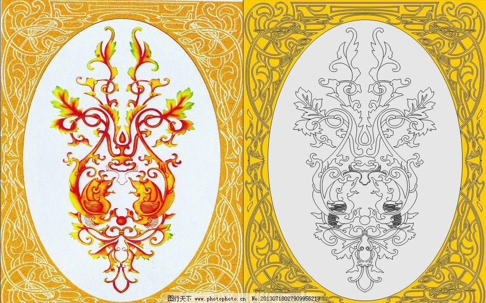 欧式古典花 欧式花 古典花 艺术玻璃 家装艺术 深雕刻绘 电视背景