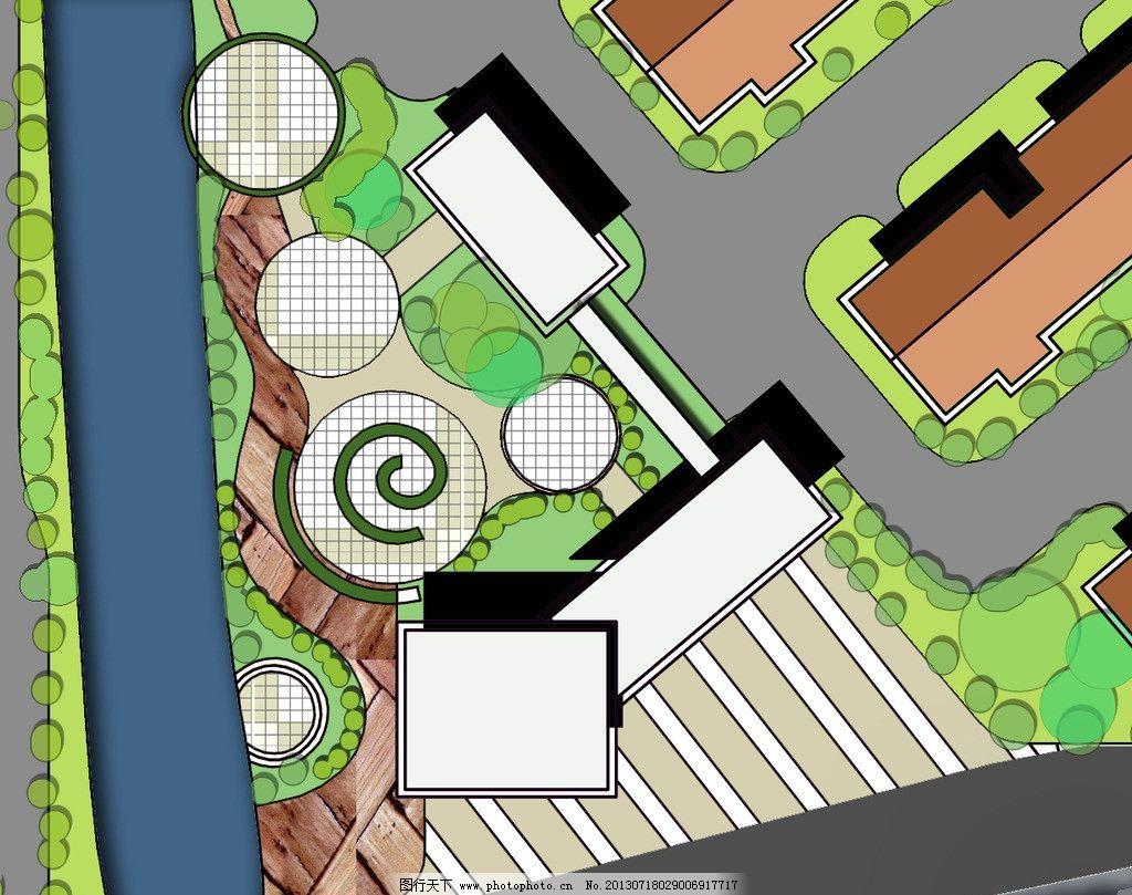 广场节点 休憩活动 小区景区设计 其他设计 环境设计 源文件 300dpi